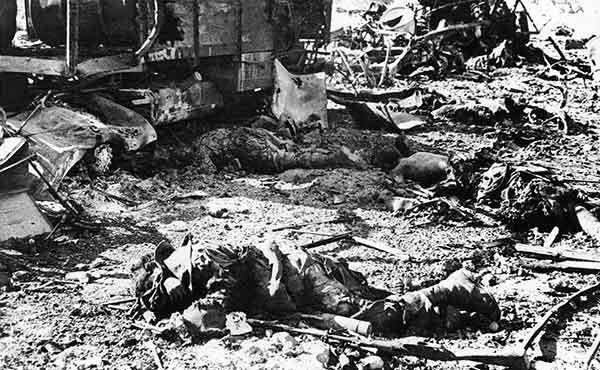Сколько людей погибло во Второй Мировой войне (в Германии и СССР)