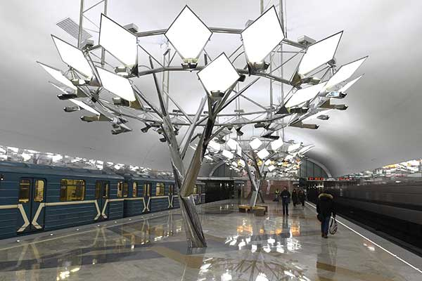 Структура и состав метро в Москве