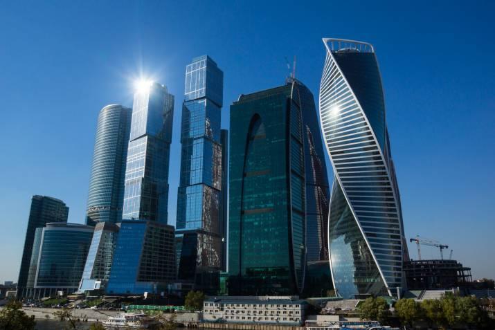 Сколько этажей в Москва-Сити