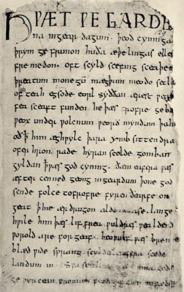 История английского алфавита древнейших времен