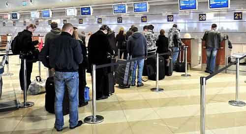 За сколько нужно приезжать в аэропорт